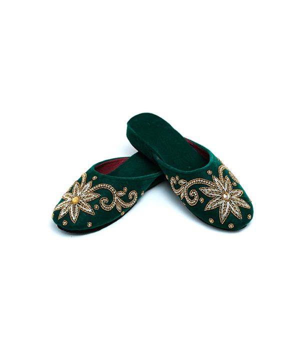 Nepali handmade bridal shoes