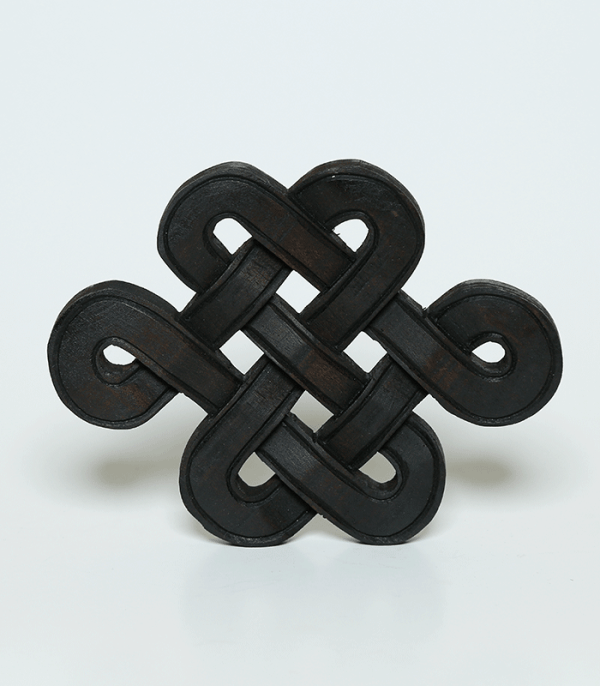 Wood Endless Knot Wall Décor