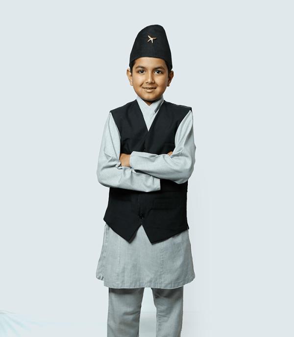 Daura Suruwal Kids - National Clothing of Nepal