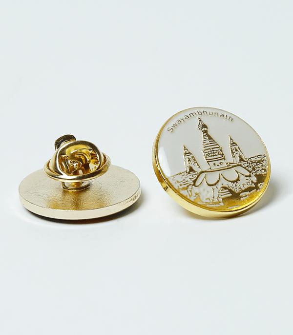 Swayambhunath Pin - (Iconic Symbols of Nepal)