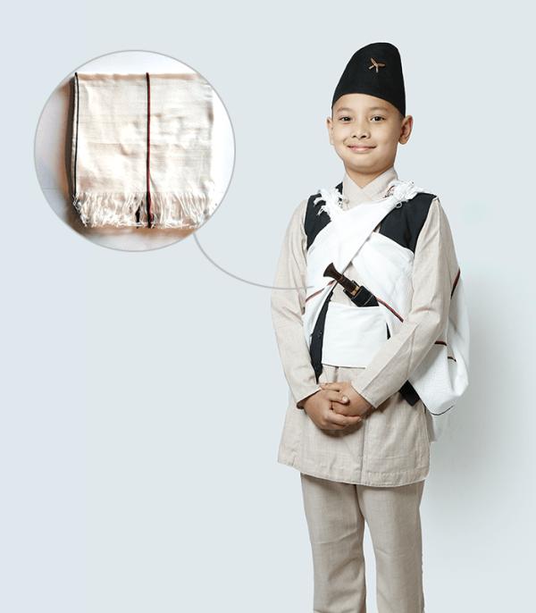 Bhangra – traditional Nepali costume of Gurungs