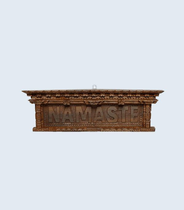 Wooden Namaste Board - Crafts of Nepal