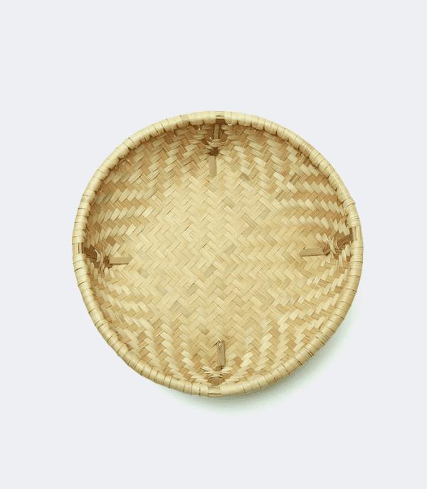 Bamboo Flat Dalo - Hand weaved basket of Nepal
