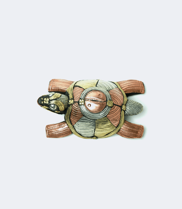 Lucky Turtle (Metal Carving & Wooden Limbs) Crafts of Nepa