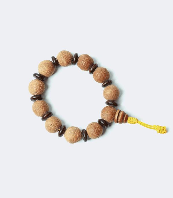 Buddha Chitta Bracelet - 11 big bodhi seeds for meditation