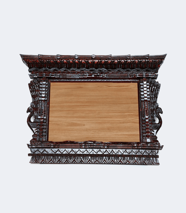 Traditional Wooden Frame A4 Size Crafts of Nepal