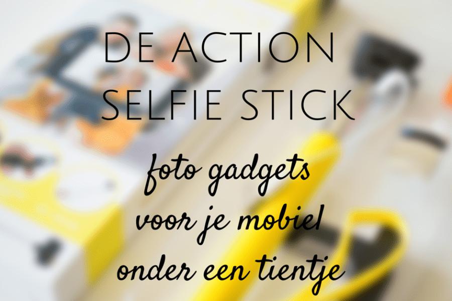 mobiele foto gadgets onder een tientje selfie stick action