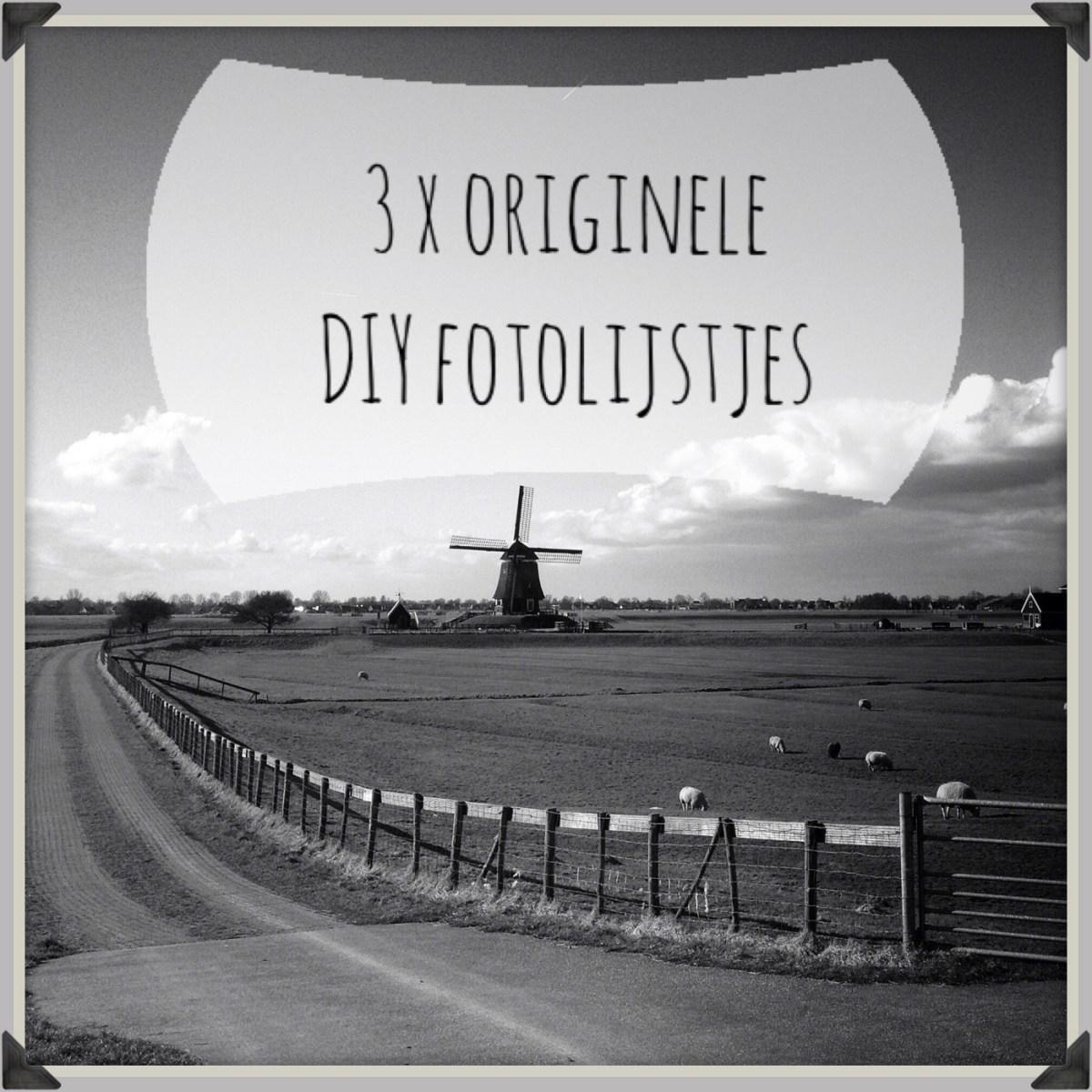 3 originele diy fotolijstjes