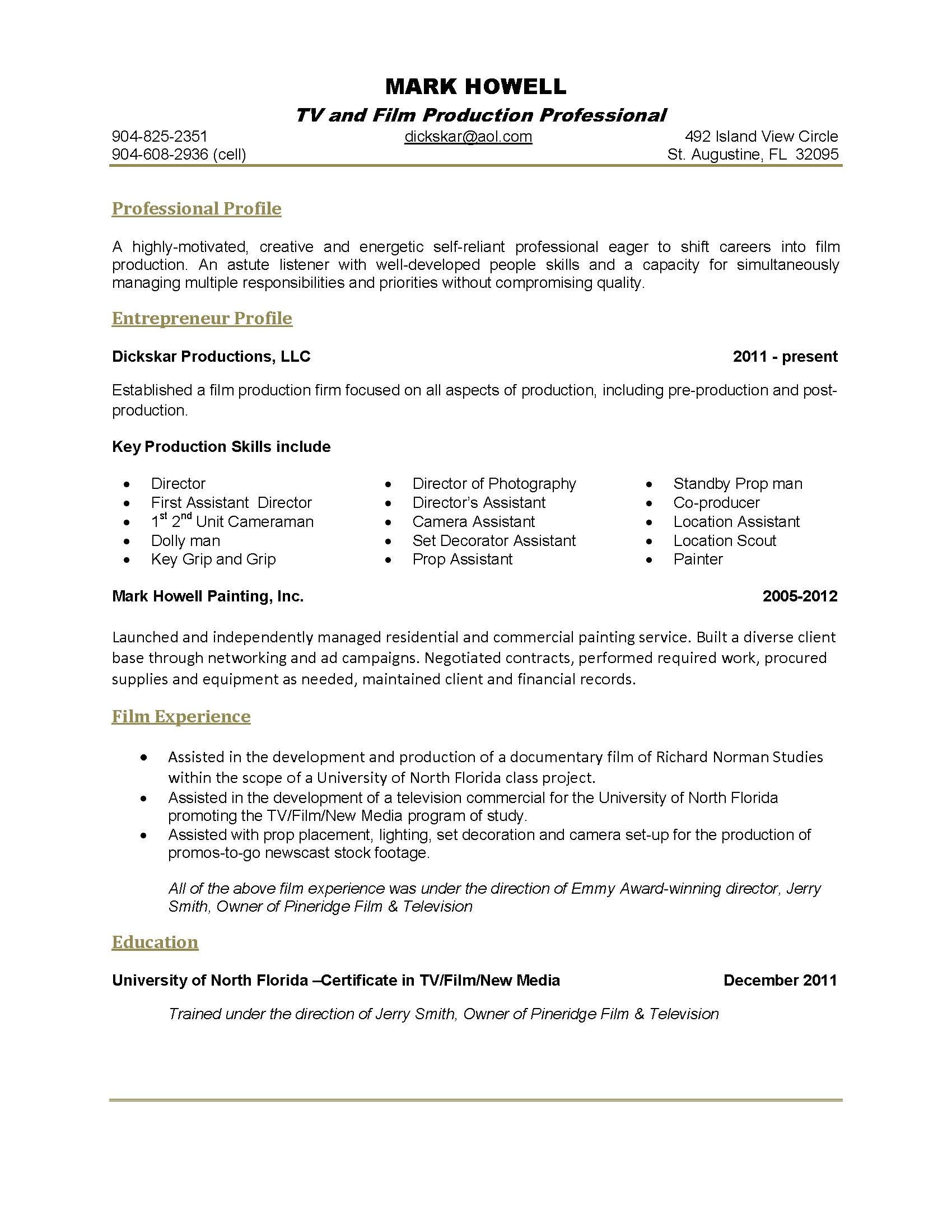 single page resume template over cv and resume samples one page