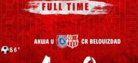 أبطال إفريقيا : شباب بلوزداد ينهزم أمام نادي أكوا يونايتد النيجيري بنتيجة 1-0