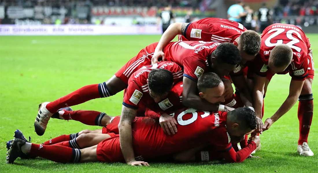 Allemagne: le Bayern  bat Düsseldorf 5-0 et file vers un 8e titre consécutif