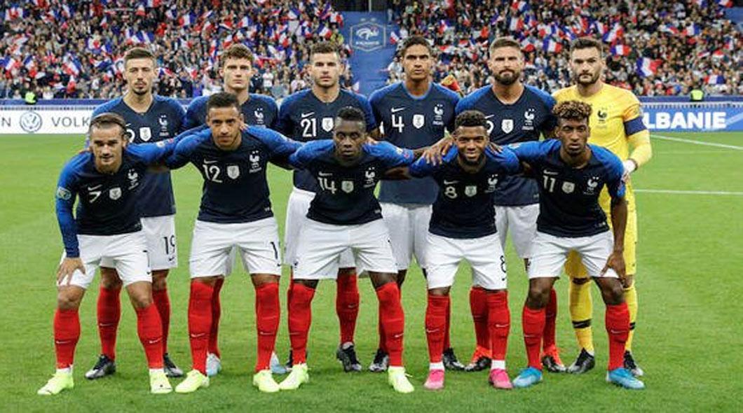La France bat le Pays de Galles (3-0), GRIEZMANN, MBAPPÉ ET DEMBÉLÉ, buteurs