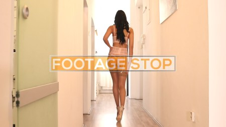 lingerie-girl-lifestyle-stock-video-footage