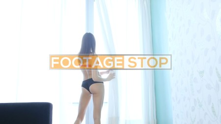 sexy-walk-lingerie-girl-sexy-stock-video-footage