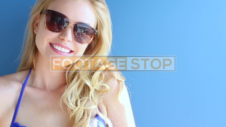 bikini-girl-gen-z-lifestyle-beach-stock-video-footage
