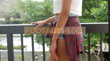 african-american-ethnic-girl-stock-video-footage