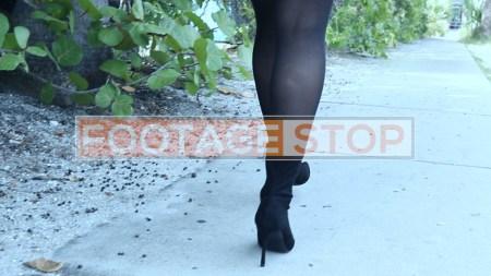 redhead-pantyhose-gen-z-girl-stock-video-3