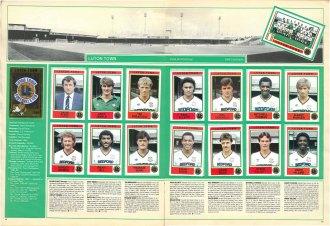 Luton Town 1985