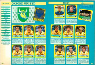 Oxford United 1988