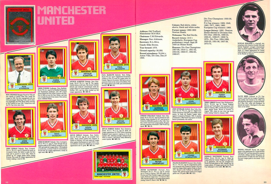 Manchester United 1987