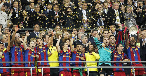 FC Barcelona 2010-11 Champions League winners