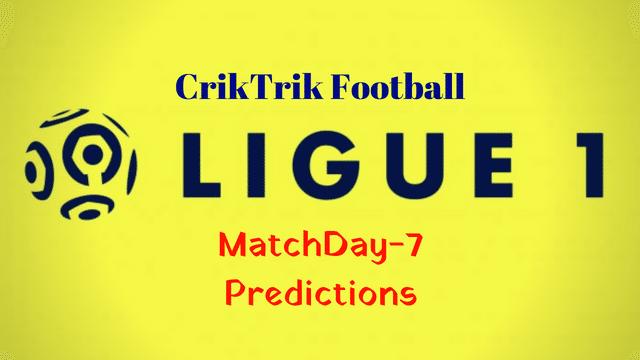 ligue 1 matchday 7 predictions