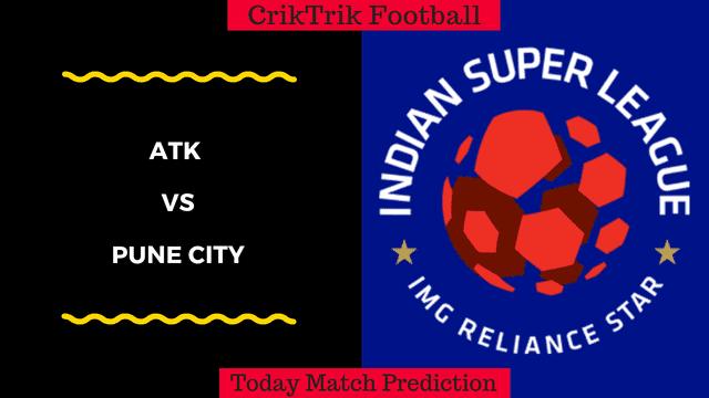 ATK vs Pune City ISL Prediction