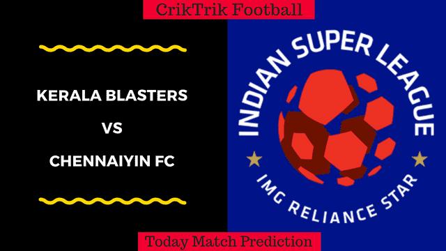 kerala vs chennai isl match prediction