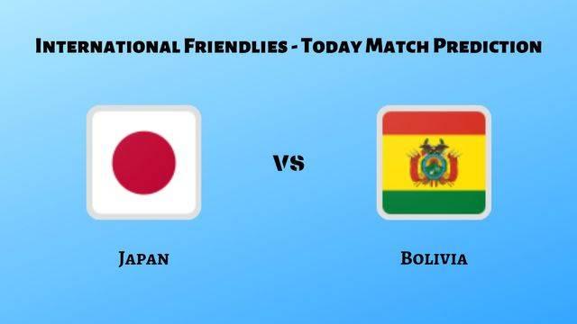 Japan vs Bolivia