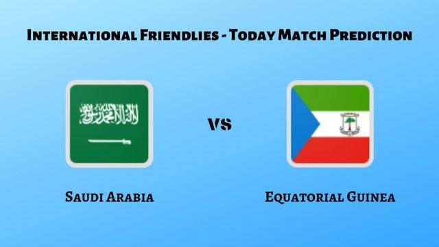 Saudi Arabia vs Equatorial Guinea