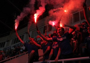 Ultras: Football in Ukraine.