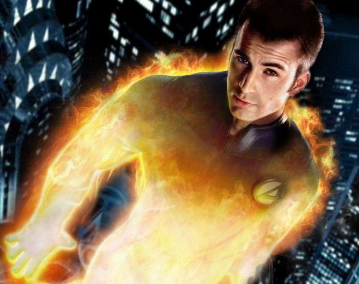 johnny storm - the human torch