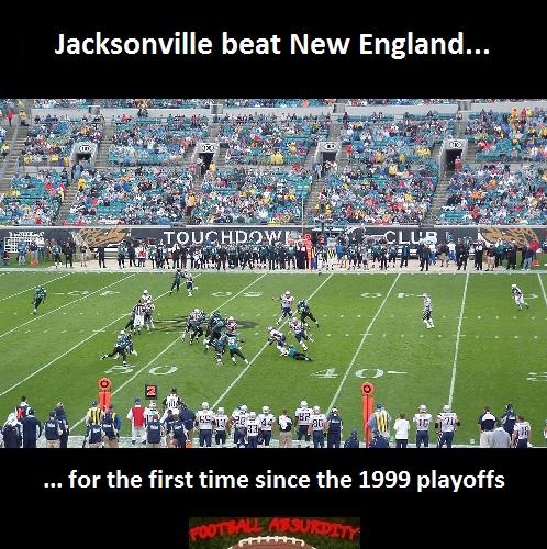 Fact about Jaguars Patriots