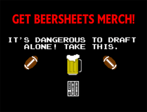 quarterback Beersheets Arizona Cardinals Seattle Seahawks Los Angeles Rams San Francisco 49ers New England Patriots