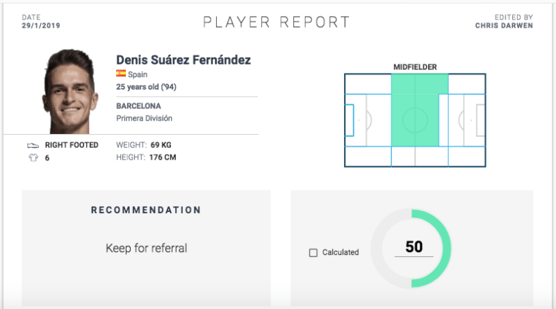 Denis Suarez Barcelona Arsenal Tactical Analysis Statistics