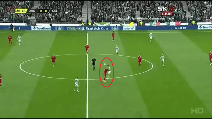 Scottish Cup 2018/19: Aberdeen vs Celtic Tactical Analysis Analysis