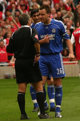"Chelsea's John Terry did categorically not call QPR's Anton Ferdinand a ""ne'er-do-well"""
