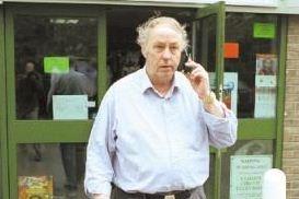 Former Darlington chairman George Reynolds