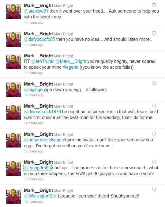 Mark Bright don't take no sh*t