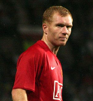 Paul Scholes returned to Sir Alex Ferguson's Manchester United squad yesterday.