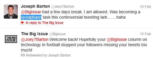 Queens Park Rangers midfielder Joey Barton