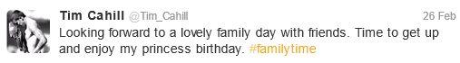 Everton midfielder Tim Cahill