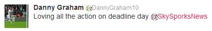 Danny Graham of Swansea City