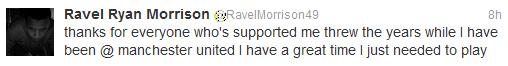 Ravel Morrison of West Ham United