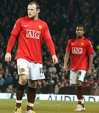 Wayne Rooney scored twice for Manchester United against Liverpool