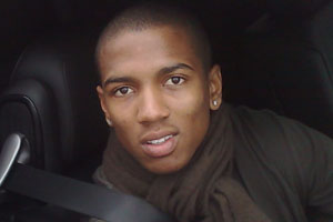 Manchester United diver Ashley Young cites Nani, Wayne Rooney and Cristiano Ronaldo as his main influences