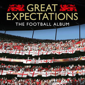 Great Expectations - The Football Album is a thorough collection of world football's most recognisable theme tunes, flag waving classics & terrace anthems.