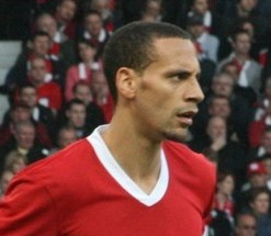 Rio Ferdinand of Manchester United and formerly England
