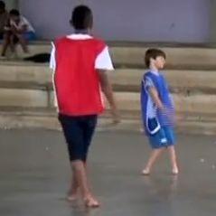 Brazilian boy Gabriel Muniz, who was born with no feet, has been invited to Barcelona's summer academy