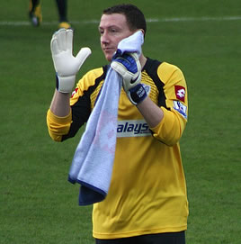 Leeds United's Paddy Kenny, who has allegedly sent abusive texts and tweets about QPR